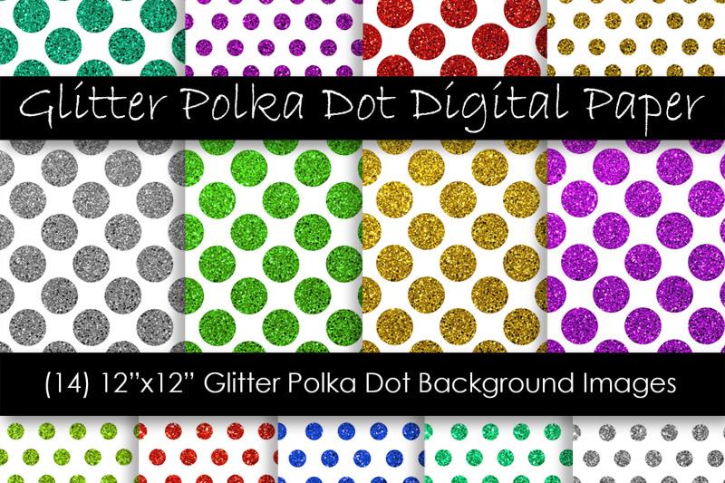glitter-polka-dot-digital-paper-glitter-polka-dot-pattern