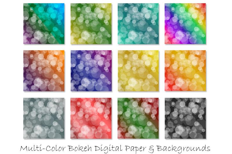 bokeh-digital-papers-ombre-bokeh-backgrounds
