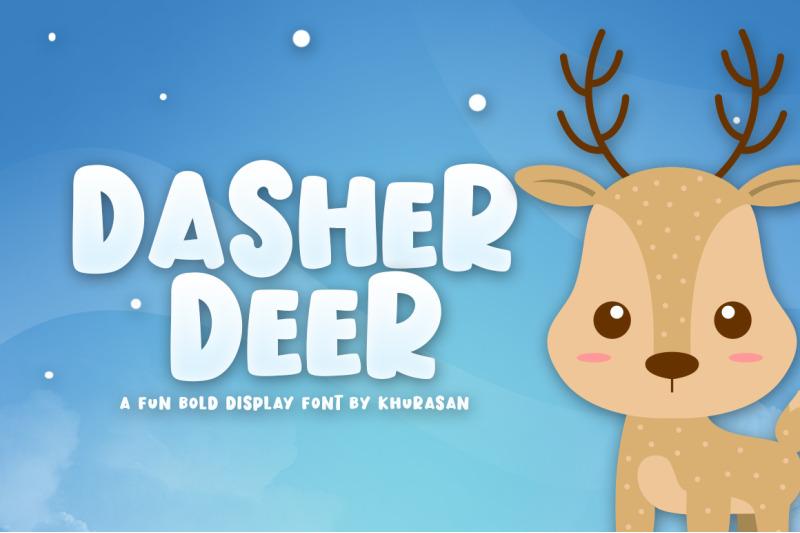 dasher-deer