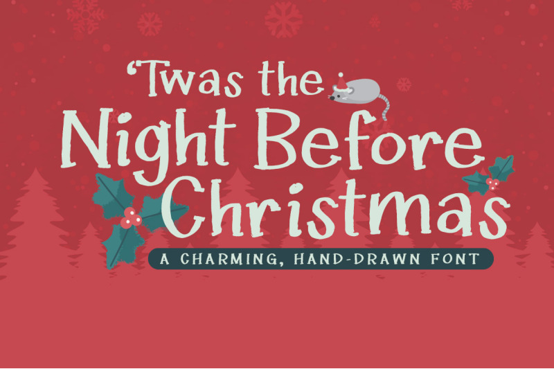 twas-the-night-before-christmas-font