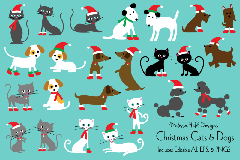 christmas-cats-and-dogs