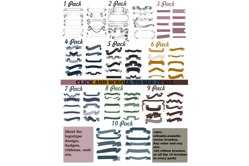 pack-of-vector-ribbon-brushes