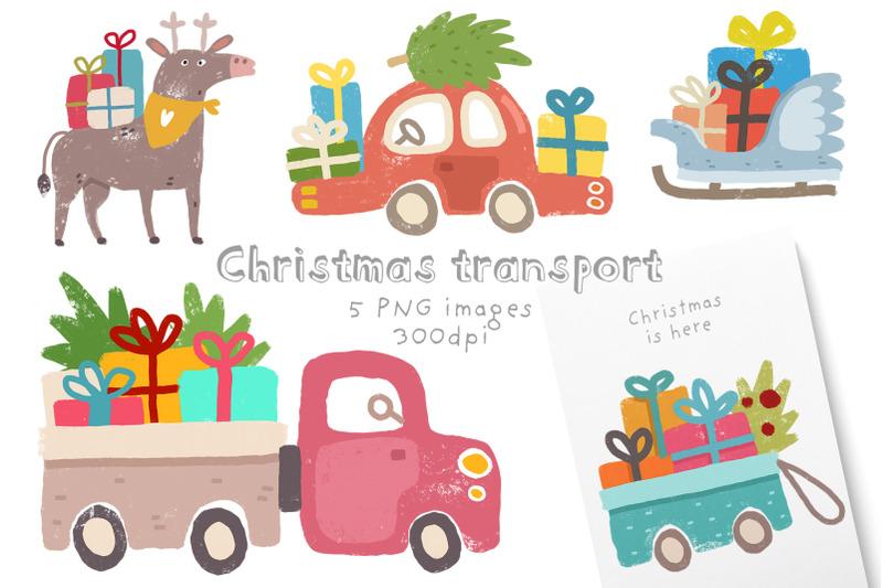christmas-transport