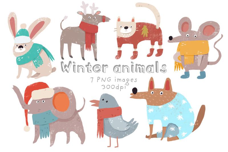 winter-animals