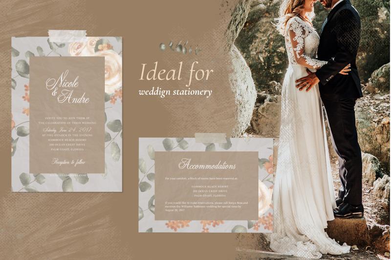 wedding-vintage-pattern-set