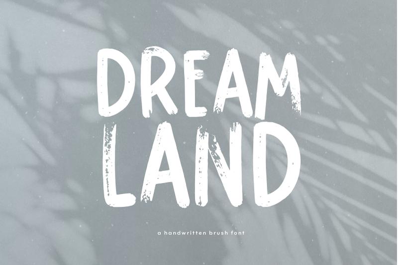 dreamland-handwritten-brush-font