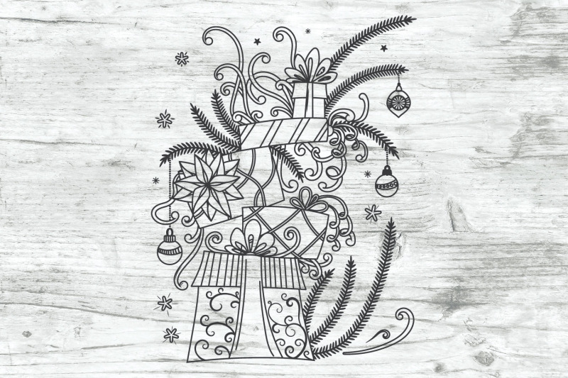 christmas-gifts-doodles-svg