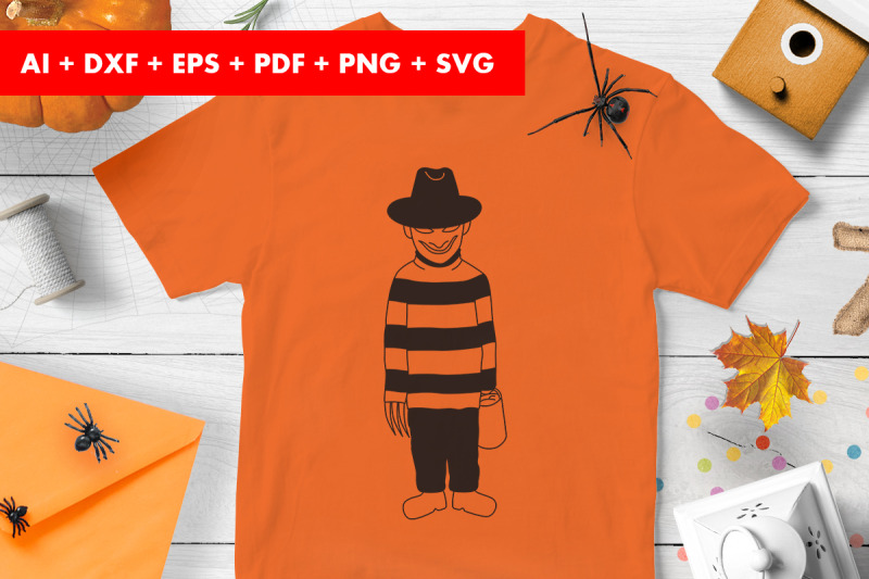 halloween-costume-clown-trick-or-treat-svg