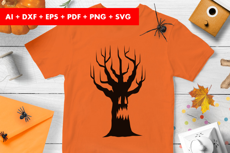 halloween-tree-clipart-trick-or-treat-svg