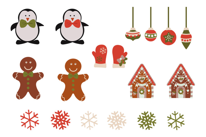 collection-of-christmas-characters-and-elements