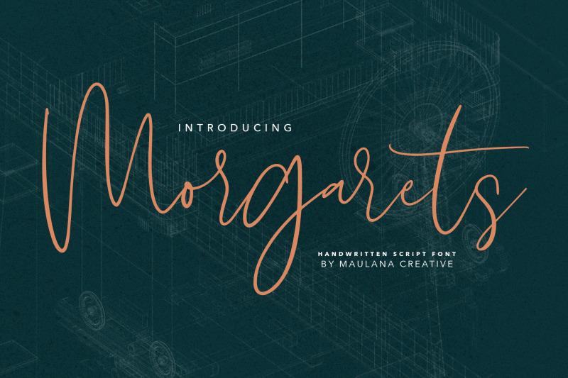 morgarets-script-font