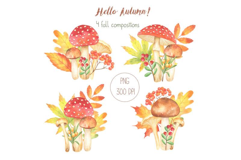 hello-autumn-watercolor-set