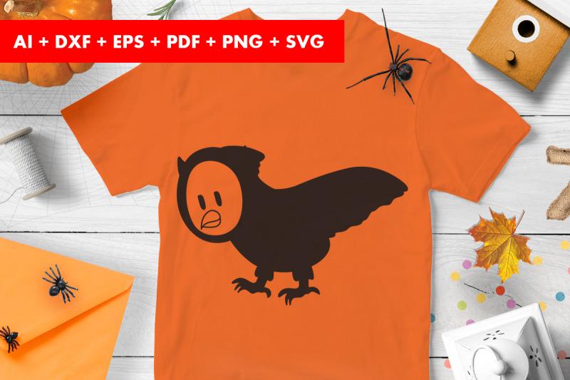 owl-halloween-vector-svg-png-transparent