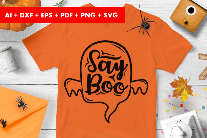 say-boo-halloween-vector-svg-png-transparent