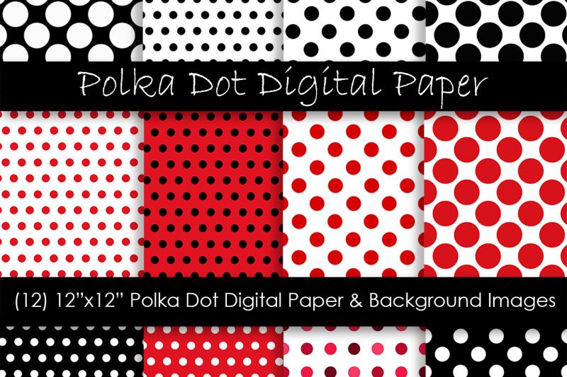 red-polka-dot-digital-paper-red-amp-black-polka-dot-backgrounds