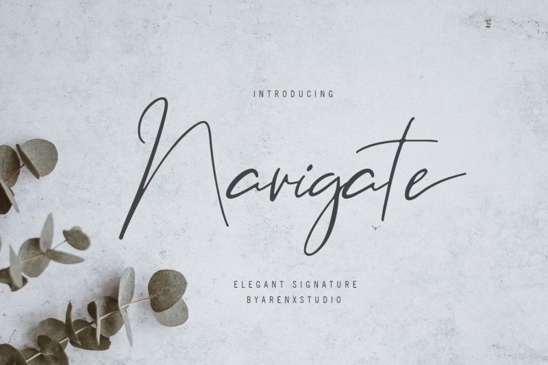 navigate-elegant-signature
