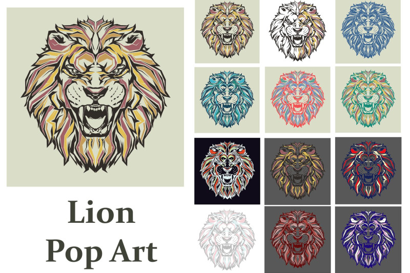 lion-king-pop-art