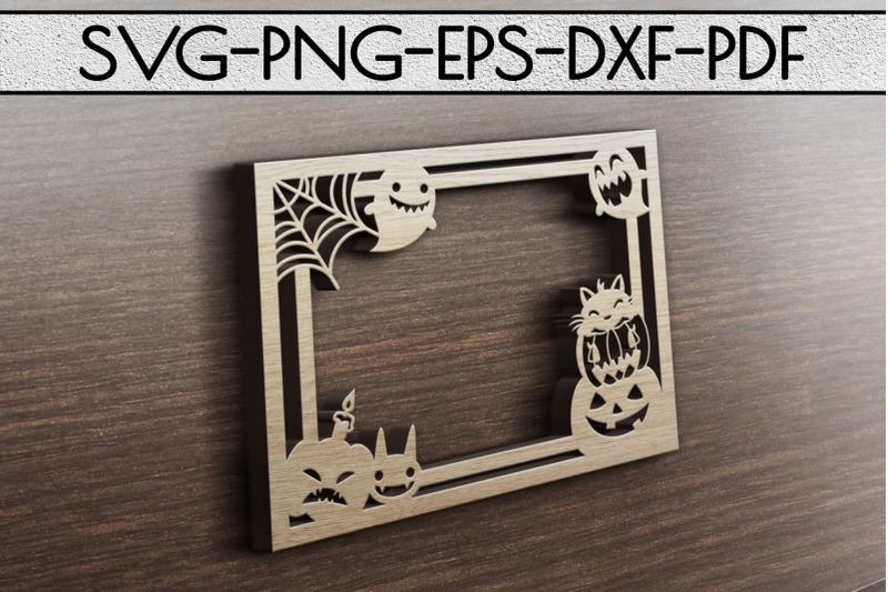 halloween-photo-frame-papercut-template-spooky-svg-dxf-pd
