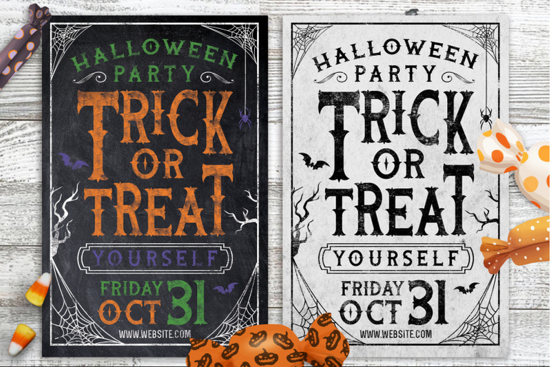 chalk-halloween-party-flyer-invite