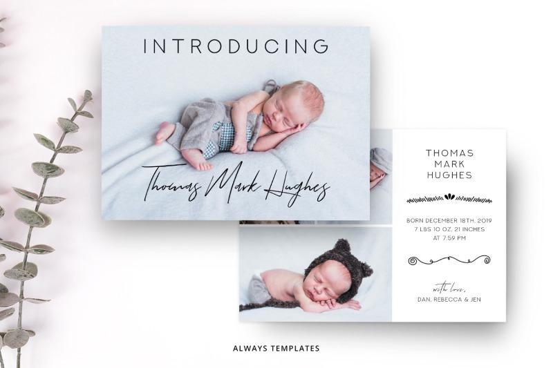 birth-announcement-template-ba007