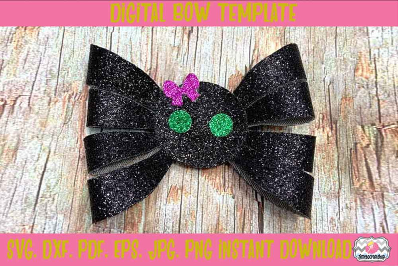 halloween-spider-hair-bow-template-svg-dxf-pdf-eps-jpg-png