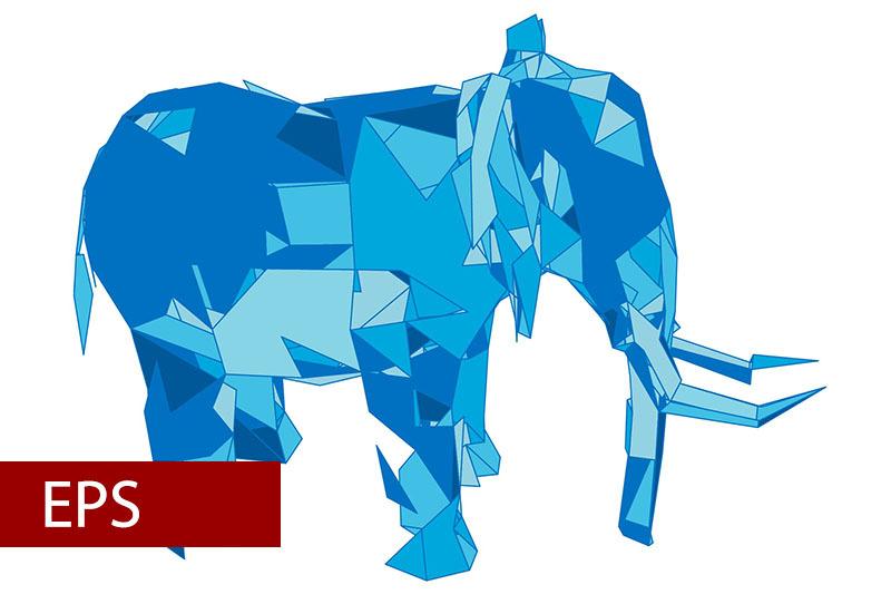 mosaics-a-elephant-abstract-a-elephant-pop-art-a-elephant