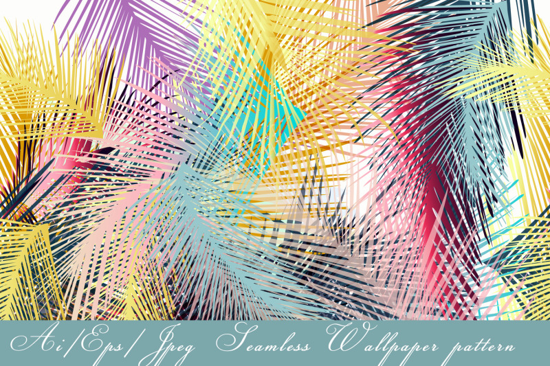 tropical-vector-seamless-pattern