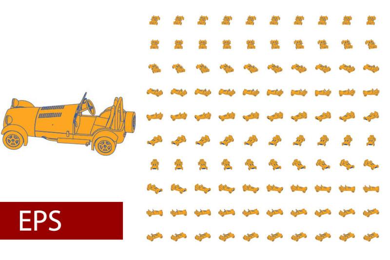 100-sets-of-flat-car-rotations