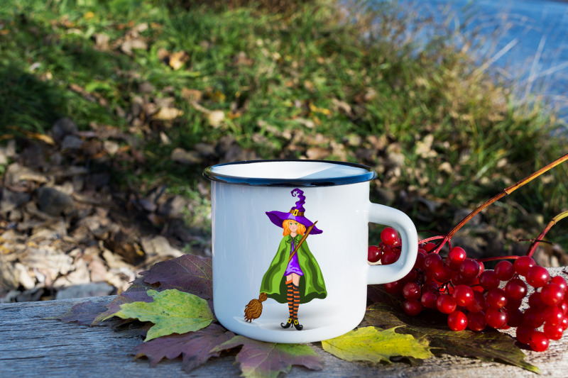 cartoon-witch-in-purple-hat-with-broom-isolated-on-white