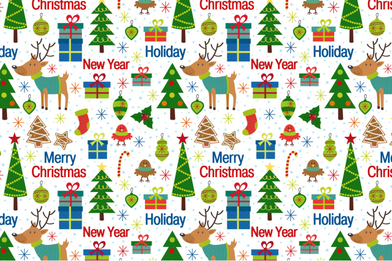 christmas-pattern-collection
