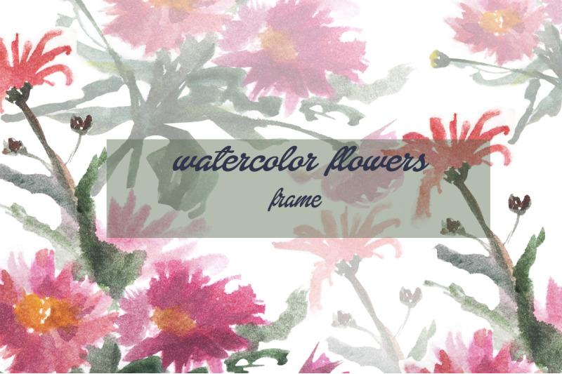 gentle-watercolor-flowers