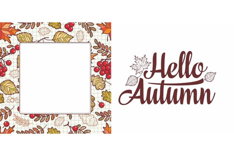 hello-autumn-lettering-phrase-text-autumn-leaves-frame