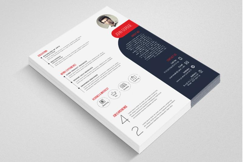 cv-resume-word-template