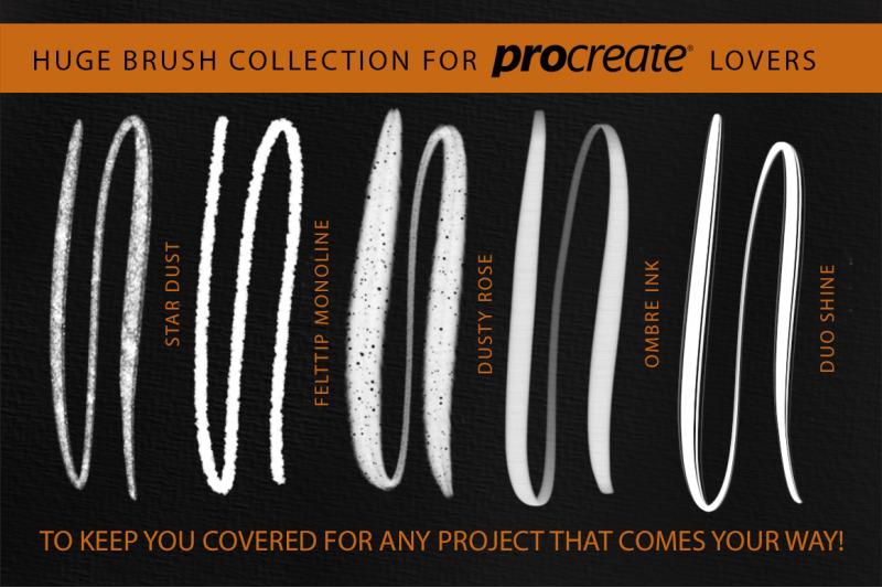 better-letter-procreate-brush-set