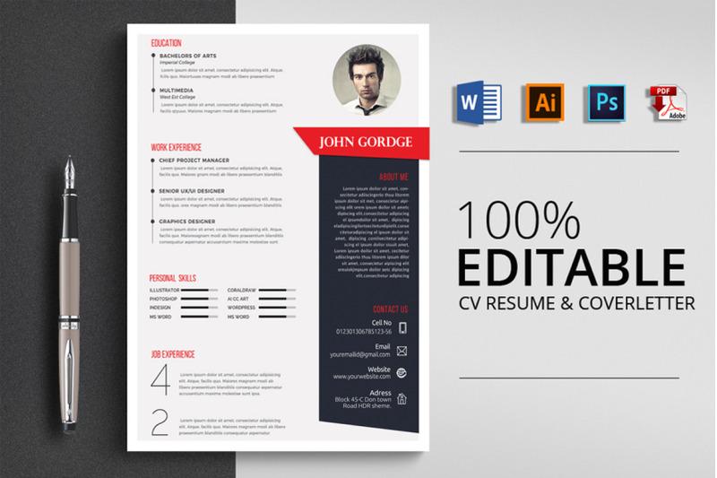 job-cv-resume-template