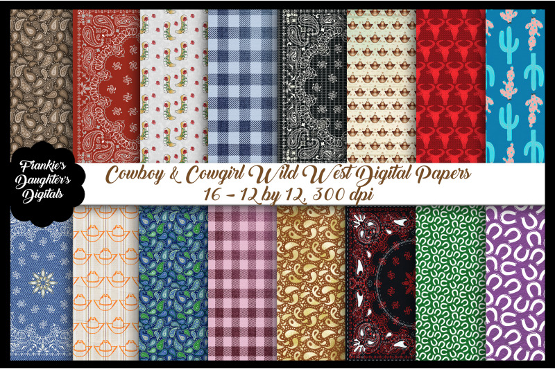 cowboy-cowgirl-wild-west-digital-papers
