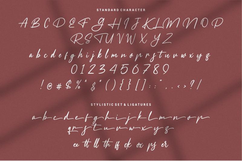 meranie-signature-font