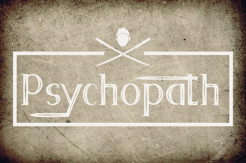psychopath-font