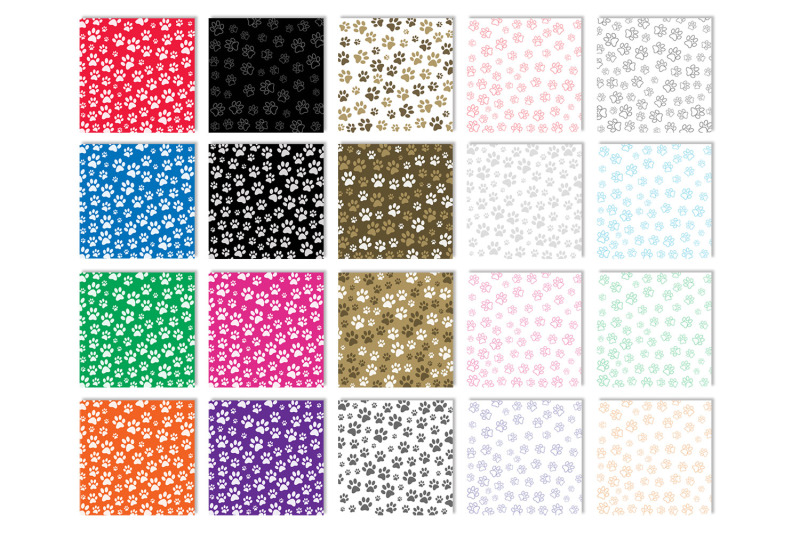 paw-print-backgrounds-animal-paw-print-digital-papers