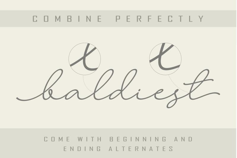 larianti-monoline-handwritten-font