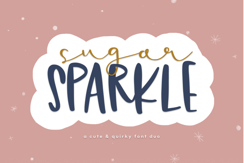 sugar-sparkle-a-handwritten-font-duo