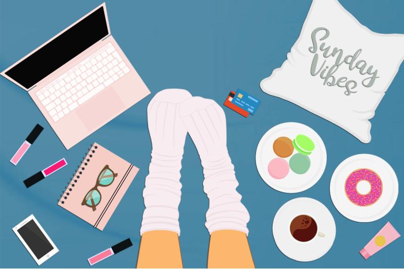 feminine-flat-lay-desktop-scene-creator