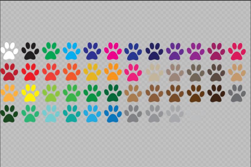 paw-print-svg-bundle-color-paw-print-clip-art