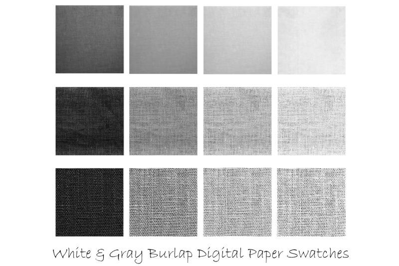 white-amp-gray-burlap-digital-paper-burlap-backgrounds