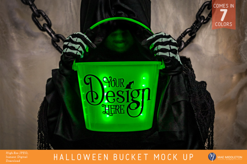 light-up-halloween-bucket-mock-ups-styled-photos