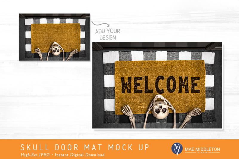 halloween-skull-door-mat-mock-up