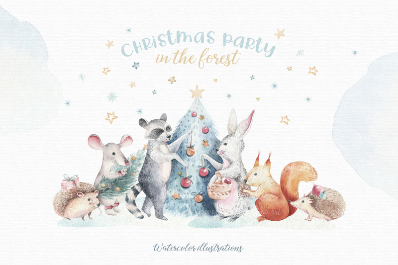 christmas-party-in-the-forest