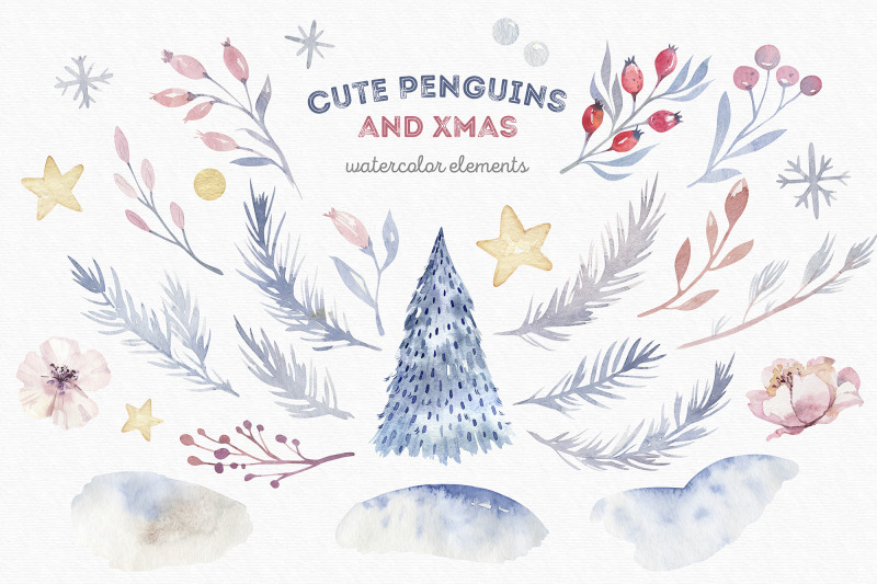 cute-penguins-and-xmas