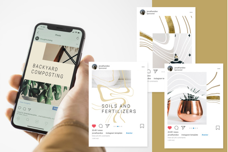 female-business-instagram-templates