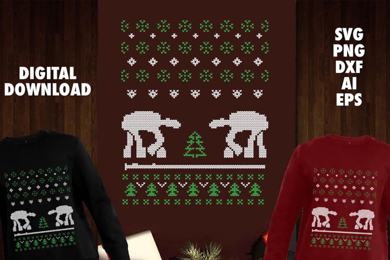 at-at-robot-svg-for-ugly-sweater-design